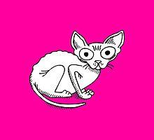 Bald Kitty by Renee de Valle