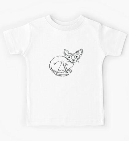Bald Kitty Kids Tee