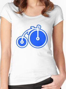 Circus Bicycle Icon Women's Fitted Scoop T-Shirt