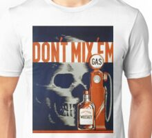Vintage poster - Don't Drink and Drive Unisex T-Shirt