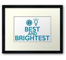 Best and Brightest Framed Print
