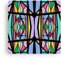 Stain Glass Pattern Canvas Print