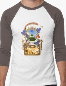 Up Nouveau Men's Baseball ¾ T-Shirt