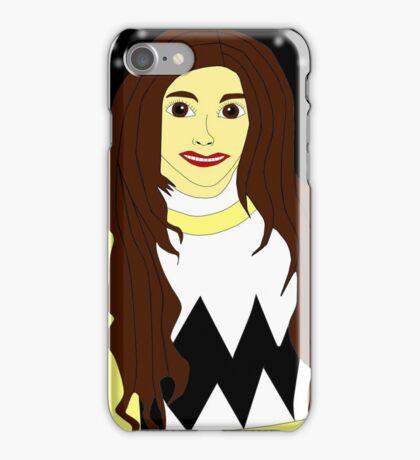 Power Rangers Lost Galaxy(Yellow Ranger) iPhone Case/Skin