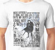 Night's Watch Oath Unisex T-Shirt