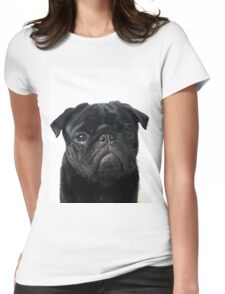 Hugo - The Black Pug Womens Fitted T-Shirt