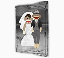Sock Monkey Wedding Unisex T-Shirt