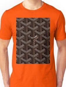 Goyard Black Unisex T-Shirt