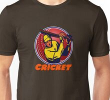 Cricket Sport Unisex T-Shirt
