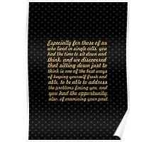 """Especially for those of us... """"Nelson Mandela"""" Inspirational Quote Poster"""