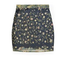Four Elements and a Strewn Floral Pattern Mini Skirt