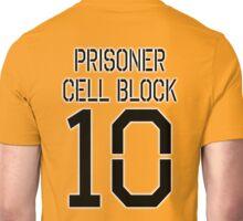 PRISON, Convict, criminal, PRISONER CELL BLOCK 10 Unisex T-Shirt