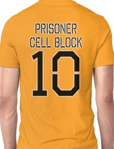 PRISON, Convict, criminal, PRISONER CELL BLOCK 10 Unisex T-Shirt