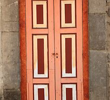 Pink and White Door by rhamm