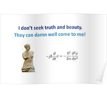 Truth and Beauty Poster