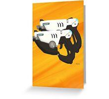 Tracer Guns Greeting Card