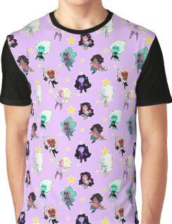 Fusion Pattern Graphic T-Shirt