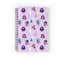 Fusion Pattern Spiral Notebook