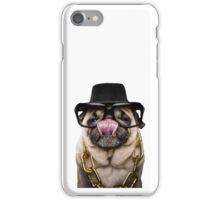 thug pug iPhone Case/Skin