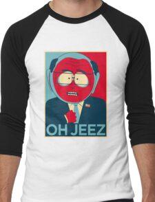 MR GARRISON OH JEEZ Men's Baseball ¾ T-Shirt