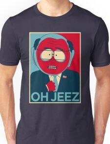 MR GARRISON OH JEEZ Unisex T-Shirt