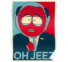 MR GARRISON OH JEEZ Poster