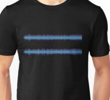 The Sound of Fear (Stereo Glitch 2) Unisex T-Shirt