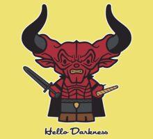 Hello Darkness Kids Tee