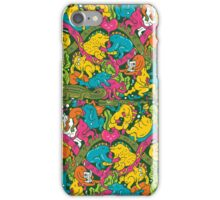 Crocodile party iPhone Case/Skin