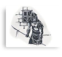 Enter The Shredder! Canvas Print