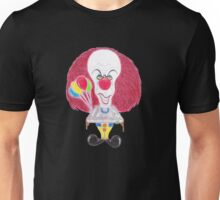 Horror Movie Clown Caricature Unisex T-Shirt