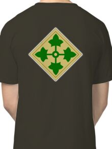 ARMY, 4th Infantry, Division, Soldier, shoulder insignia, American, America, USA,  Classic T-Shirt