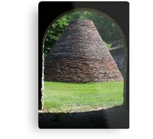 Charcoal Kiln Fayette State Park Metal Print