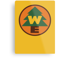 Wilderness Explorer Logo Metal Print
