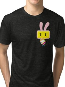 Happy Easter by CharmBeeOn Tri-blend T-Shirt