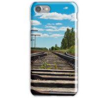 Train Tracks in Wakaw SK iPhone Case/Skin