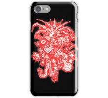 Red Collage iPhone Case/Skin