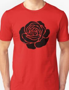 Cool Black Rose  T-Shirt