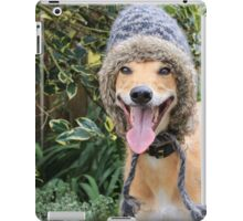 Funny Dog Wearing Hat iPad Case/Skin