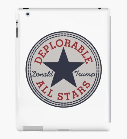 Deplorable All Stars iPad Case/Skin
