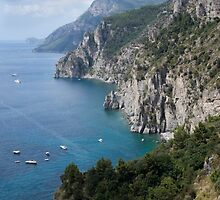 AMALFI COASTLINE by Michael Carter