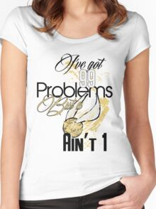 Snitch Problems Women's Fitted Scoop T-Shirt