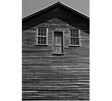 Door to Nowhere BW Photographic Print