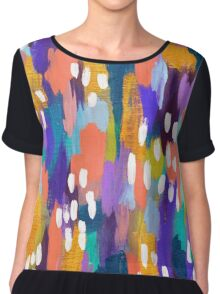 Jules - Abstract Chiffon Top