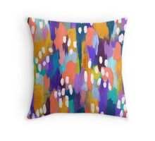 Jules - Abstract Throw Pillow