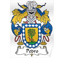 Pedro Coat of Arms (Spanish) Poster