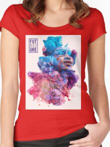 Future Portrait + DS2 Women's Fitted Scoop T-Shirt