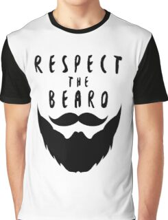 Respect The Beard Graphic T-Shirt