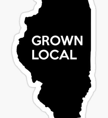 Illinois Grown Local IL Chicago Sticker