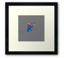 Cookie Monster Zombie Framed Print